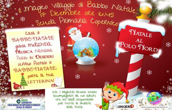 Casa Di Babbo Natale Al Polo Nord.Natale Al Polo Nord Comitato Genitori Copernico