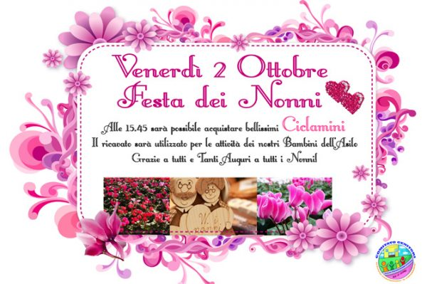 2 Ottobre Festa dei Nonni Infanzie - Comitato Genitori Copernico c56ed011cfc1