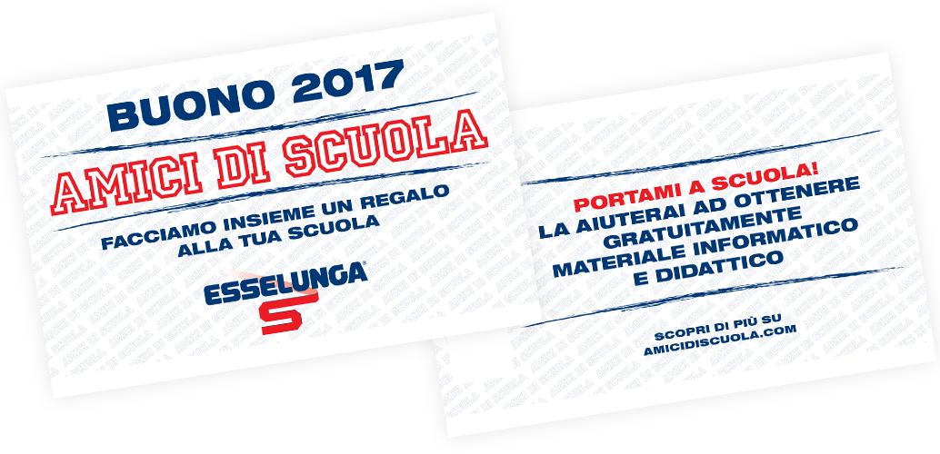 Bollini coop buoni amici di scuola esselunga buoni for Esselunga catalogo 2017