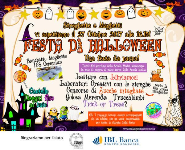 Festa di Halloween 2017 - Comitato Genitori Copernico 2dd42558c33a